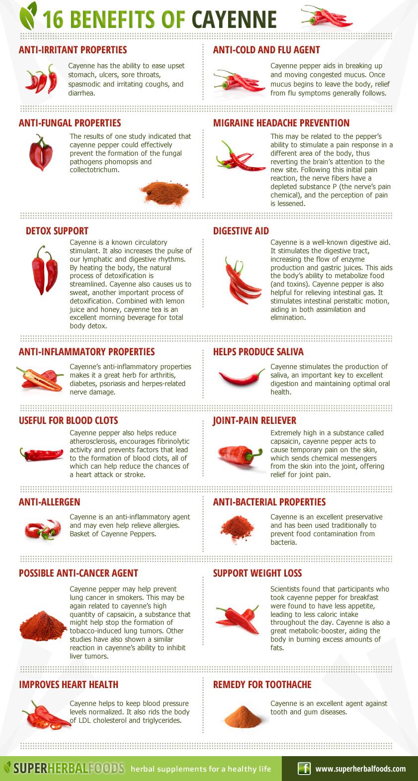 Super Herbal Foods Natural Remedies 16 Benefits Of