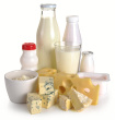 Reduce intake of cow's milk and cheeses